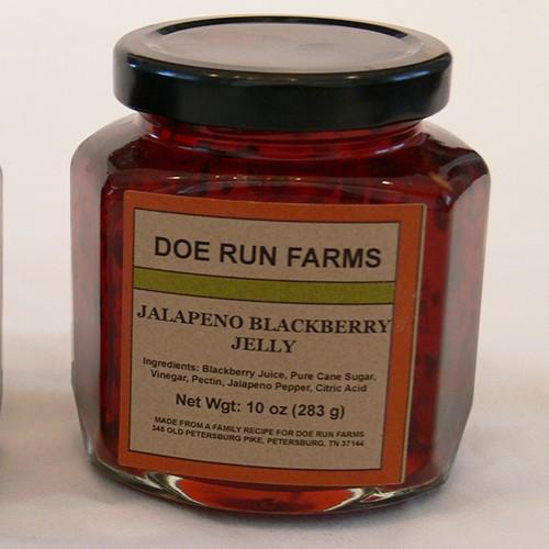 Jalapeno Blackberry Jelly