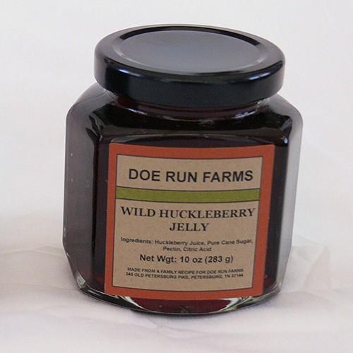 Wild Huckleberry Jelly