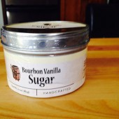 Bourbon Vanilla Sugar     (10 oz. tin)